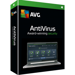 Antivirus: AVG Antivirus 1PC 1jaar