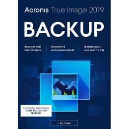 Acronis True Image 2019 1PC/MAC