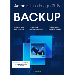 Lokale Backup: Acronis True Image 2019 3PC/MAC