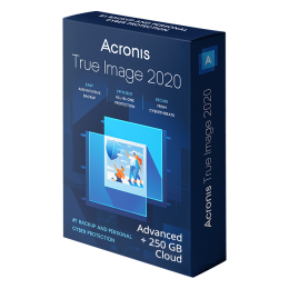 Backup en Onderhoud: Acronis True Image Advanced 2020 3Apparaten 1Jaar