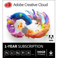 Photo editing: Adobe Photography Plan Creative Cloud 1 Gebruiker 1Jaar 1TB cloudopslag