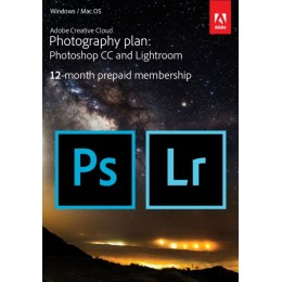Multimedia: Adobe Photography Plan CC 1 Gebruiker 1Jaar + 1TB cloud