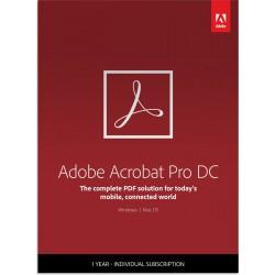 Adobe Acrobat Professional DC Multi-Language 1User 1Year