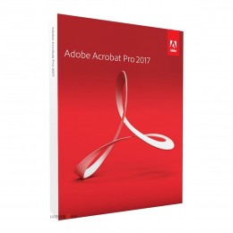 PDF-verwerking: Adobe Acrobat Professional 2017 - Nederlands - Windows