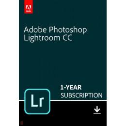 Adobe Lightroom Creative Cloud Multi-Language 1 Gebruiker 1Jaar 1TB cloudopslag