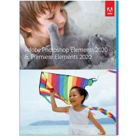 Photo editing: Adobe Photoshop + Premiere Elements 2020 - English - Windows