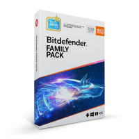 Total Security: Bitdefender Family Pack 2019 1year 15-Devices