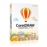 Photo editing: CorelDraw Essentials 2020 - Windows