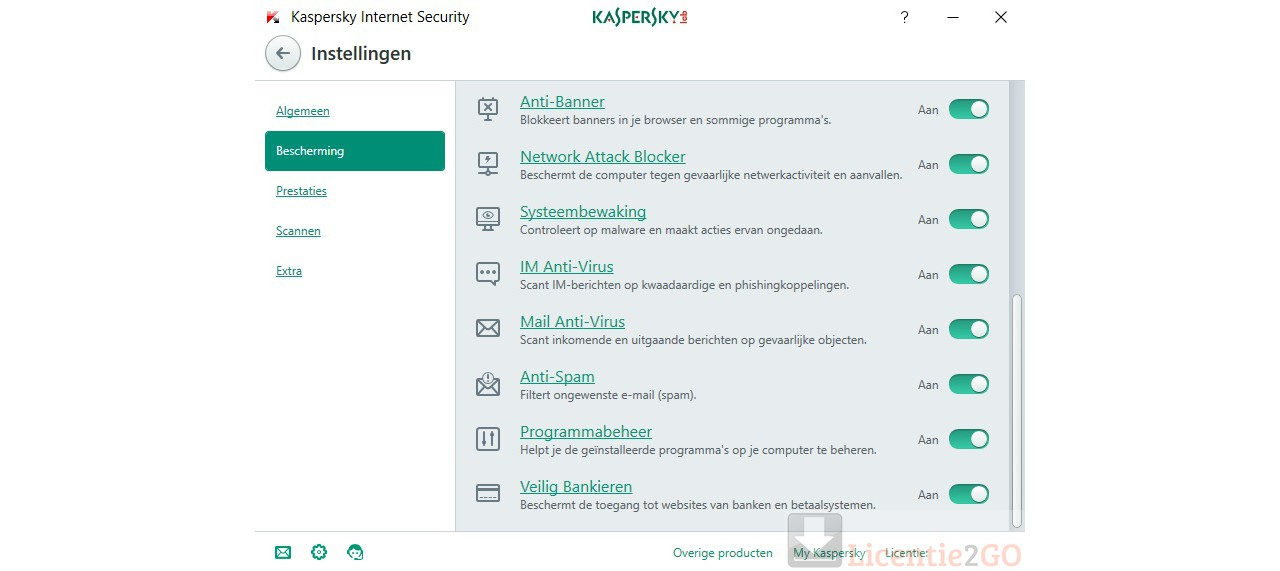 Kaspersky Internet Security 1Device 1year 2020