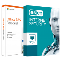 Office: Voordeelbundel: Office 365 Home + ESET Multi Device Security 5 devices 1 year