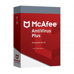 Antivirus: McAfee AntiVirus Plus 2020 1device 1year