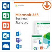 Office products: Microsoft 365 Business Standard | Annual subscription | 1User | 15 Devices