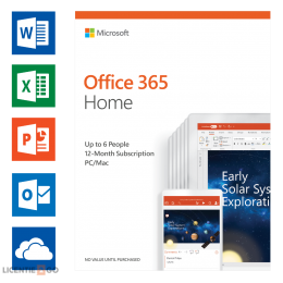 Microsoft: Microsoft Office 365 Home 6Users 1year