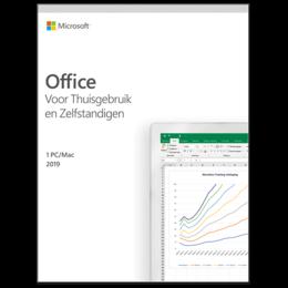 Office voor bedrijven: Microsoft Office 2019 Thuisgebruik & Zelfstandigen Windows + Mac