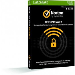 Antivirus: Norton WiFi Privacy 1-Apparaat 1 jaar