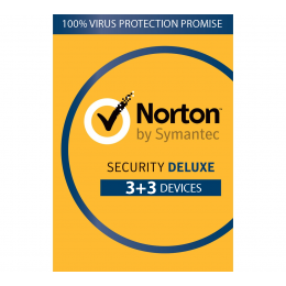 Norton Security Deluxe 6-Devices 1year 2020 -Antivirus Included- Windows | Mac | Android | iOs