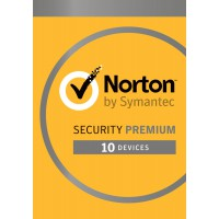 Norton Security Premium 10-Apparaten + 25GB Backup 1jaar 2019