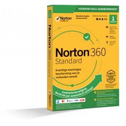 Norton 360 Standaard | 1Apparaat - 1Jaar | Windows - Mac - Android - iOS | 10Gb Cloud Opslag