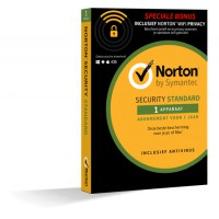 Antivirus: Norton Security Standard + WiFi Privacy 1-Device 1year