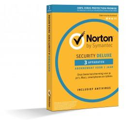 Norton Security Deluxe 3-Apparaten 1jaar 2020 - Antivirus inbegrepen - Windows | Mac | Android | iOS