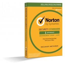 Beveiliging: Norton Security Standaard 1-Apparaat 1jaar 2019