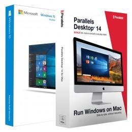 Virtualisatie: Parallels Desktop 14 + Windows 10 Home Bundel