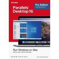 Virtualisation: Parallels Desktop 16 PRO - 1Year - Home users & Professionals | 1 installation