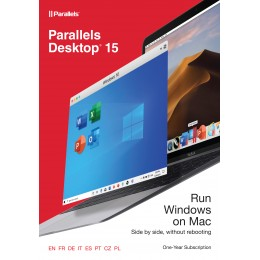 Virtualisation: Parallels Desktop 15 for Mac 1Year